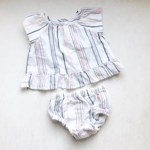 Two Piece Stripe Set